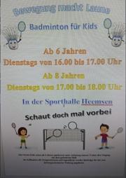 Badminton-Kids