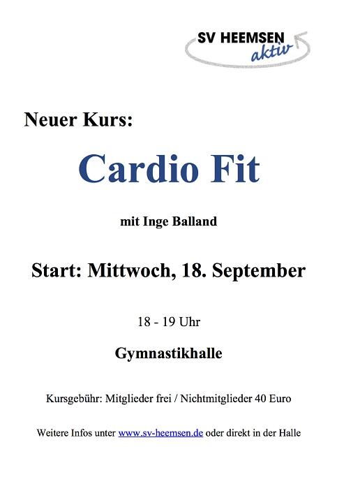 Cardio©Sportverein Heemsen