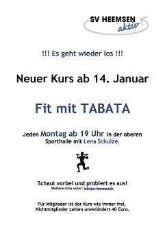 Tabata©Sportverein Heemsen