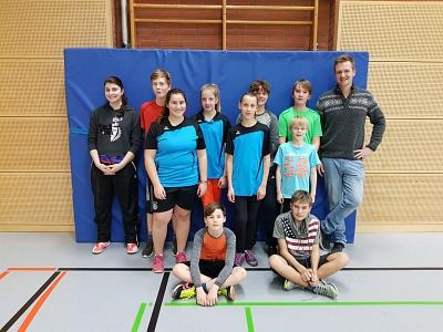 Jahresabschluss bei der Badmintonjugend