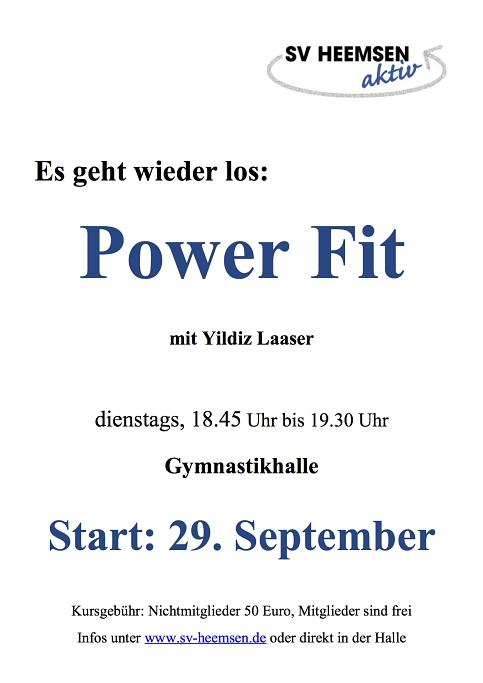 Power Fit©Sportverein Heemsen