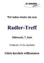 Radler-Treff