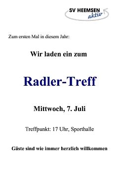 Radlertreff©Sportverein Heemsen