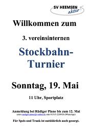 Stockbahn